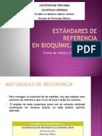 Estandares de Referencia en Bioquímica Clínica