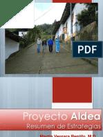 5 Proyecto Aldea Resumen de Estrategias