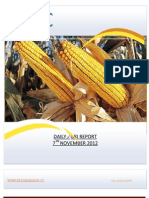 DAILY AGRI REPORT BY EPIC RESEARCH- 7 NOVEMBER 2012