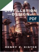 Distillation Design Kister