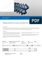 barrel and screw