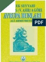 Ali Ahmetbeyoğlu - Avrupa Hunları