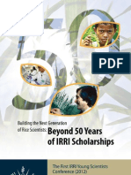 Sustaining Excellence in Rice Research (1)