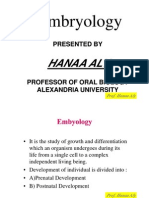 Embrology PowerPoint by Prof Hanaa Aly Presentation
