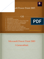 Microsoft Power Point 2003 TIC 10 v2