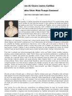 _Catilinárias_ - Discurso de Cícero contra Catilina
