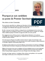 Profession de Foi Marie-Rose KORO
