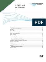 ProCurve 5400-3500 PoE White Paper