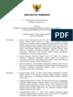 Peraturan Walikota Manado Tentang Pemberian Tambahan Penghasilan Pegawai