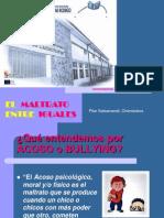 Acoso-bullying Charla Alumnos