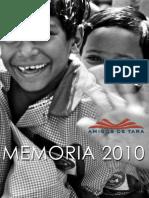 Memoria ADT 2010 Castellano