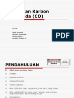 Keracunan Karbon Monoksida (CO)