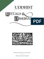 Sucitto Candasiri Buddhist Rituals Observances