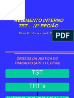 Regimento Interno Trt18