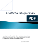 Conflictul Interpersonal