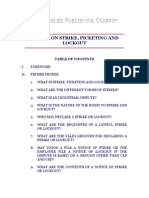 Primer on Strike Picketing and Lockout