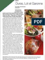 Review Restaurant Le Cabri (Duras, France)