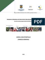 POSDRU Ghid Final 2012 Wyk38_ghid161012