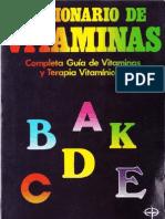 25544225 Diccionario de Vitaminas