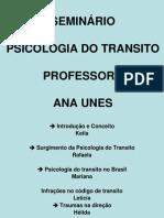 Apresentação Psicologia no Transito