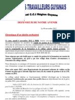 CCI-Guyanne-Chronique d'un déclin orchestré