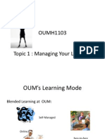OUMH1103 - 1