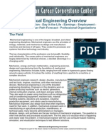 Mechanical Engineering Overview