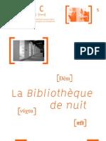Bibliotheque de Nuit Web 2011-2012