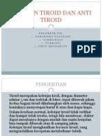 Ppt Hormon Tiroid Dan Antitiroid
