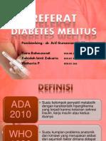 Referat Diabetes Melitus tipe 2