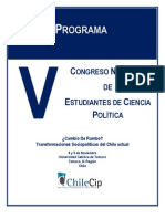 Programa Congreso Chilecip Final