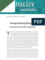Strategia Federacji Rosyjskiej wobec państw basenu Morza Bałtyckiego