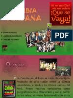 Presentación cumbia Peruana