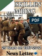 Enniskillen Bomb Supplement