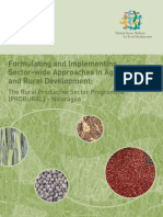 Formulating and Implementing Sector-wide Approaches in Agriculture and Rural Development: Nicaragua