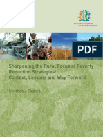 Sharpening the Rural Focus of Poverty Reduction Strategies