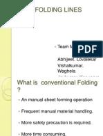 Folding Lines