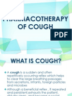 Pharmacotherapy of Cough
