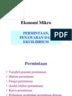 EKONOMI MIKRO