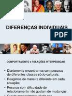 AULA 01 - DIFERENÇAS INDIVIDUAIS
