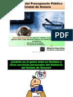Análisis de Presupuesto de Sonora