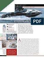 Comparativo da Revista Náutica entre a Evolve 265 e a Ventura 265