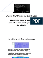 Lesson 1_Audio Synthesis