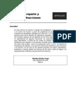 Reparto y Fracciones M Davila