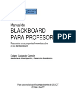 Manual Blackboard Profesores - ULACIT