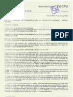 Carta Fianza Carretera Puquio