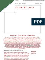 Vedic Astrology_ Birth Yogas or Nitya Yogas