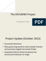 Evaluation Plan - Kivumwi Project - Trupin