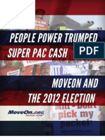MoveOn In The 2012 Election