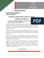 11-11-2011 El gobierno estatal omitió socializar el proyecto del Museo de la Barranca